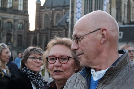 Martin, 71, professor from Groningen and his wife